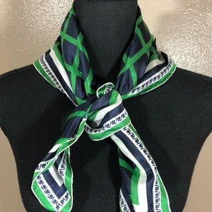 Johnson &Higgins silk scarf
